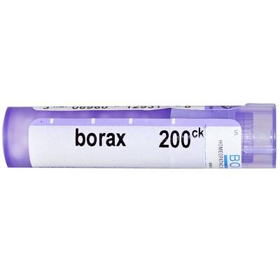 Boiron, Single Remedies Тетраборат натрия, 200 CK, прибл. 80 гранул