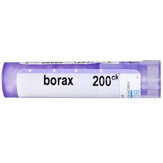 Boiron, Single Remedies, Borax, 200 CK, Approx 80 Pellets