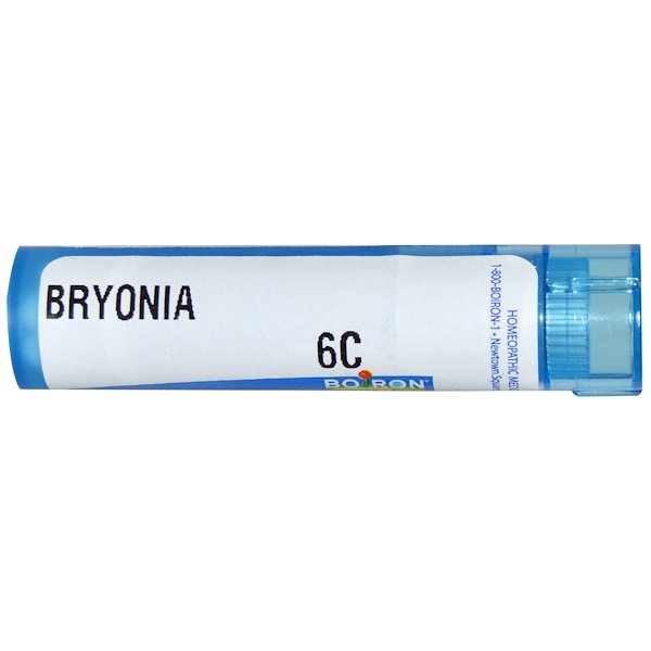 Boiron, Single Remedies, Bryonia, 6C, Approx 80 Pellets