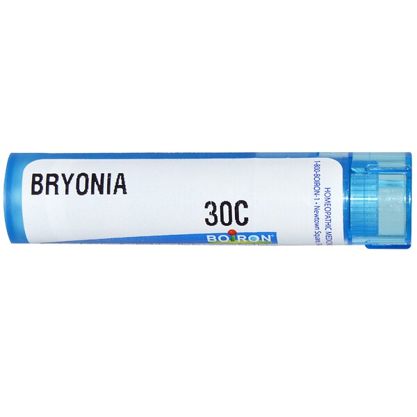 Boiron, Single Remedies, Bryonia(ブリオニア)、30C、約80ペレット