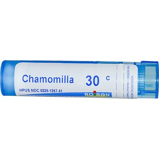 Boiron, Single Remedies, Chamomilla, 30C, Approx 80 Pellets