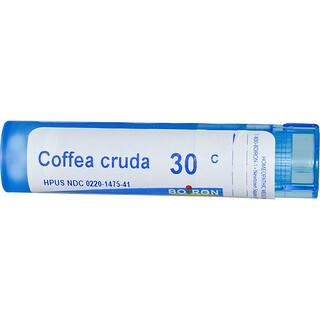 Boiron, Single Remedies, Coffea Cruda, 30C, Approx 80 Pellets