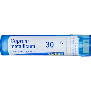 Boiron, Single Remedies, Cuprum Metallicum, 30C, 80 Pellets