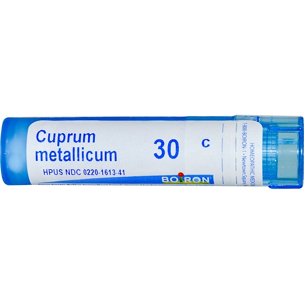 Boiron, Single Remedies, Cuprum Metallicum, 30 CH, 80 granules (Discontinued Item)