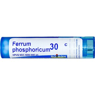 Boiron, Single Remedies, Ferrum Phosphoricum, 30C, 80 Pellets