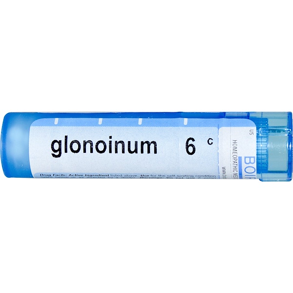 Boiron, Single Remedies, Glonoinum, 6C, Aprox. 80 Pellets