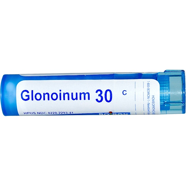 Boiron, Single Remedies, Glonoinum, 30C, Aprox. 80 Pellets (Discontinued Item)