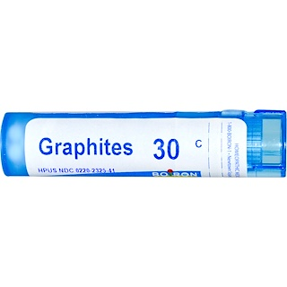 Boiron, Single Remedies, Graphites, 30C, 80 Pellets