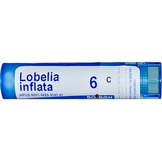 Boiron, Single Remedies, Lobelia Inflata, 6C, Approx 80 Pellets