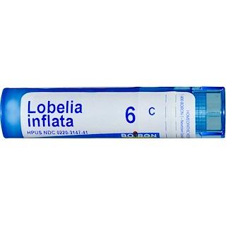 Boiron, Single Remedies, Lobelia Inflata, 6C, Aprox. 80 Pellets