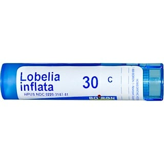 Boiron, Single Remedies, Lobelia Inflata, 30C, Approx 80 Pellets