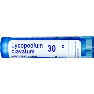 Boiron, Single Remedies, Lycopodium Clavatum, 30C, Approx 80 Pellets