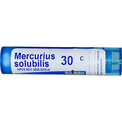 Меркуриус солюбилис, 30C, прибл. 80 гранул аронник трёхлистный 30c прибл 80 гранул
