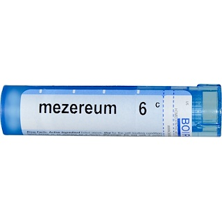 Boiron, Single Remedies, Mezereum, 6C, Aprox. 80 Pellets
