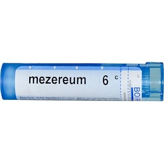 Boiron, Single Remedies, Mezereum, 6C, Approx 80 Pellets