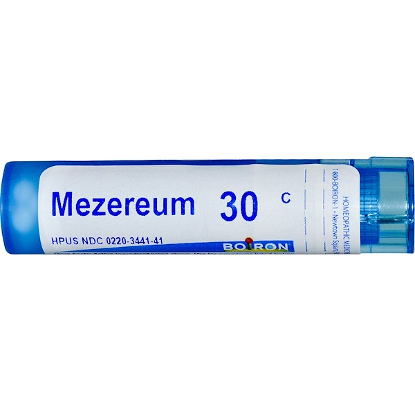 Boiron, Single Remedies, Mezereum, 30C, Circa 80 Globuli (Discontinued Item)