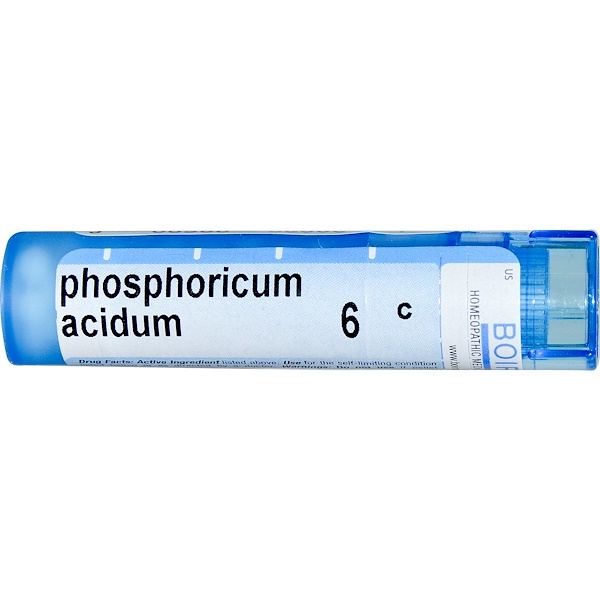 Boiron, Single Remedies, Phosphoricum Acidum, 6C, Approx 80 Pellets (Discontinued Item)