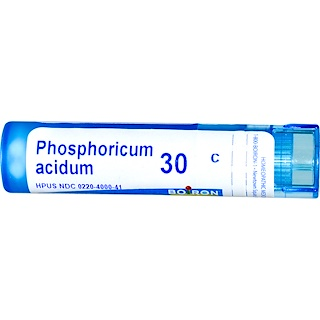 Boiron, Single Remedies, Phosphoricum Acidum, 30C, Approx 80 Pellets