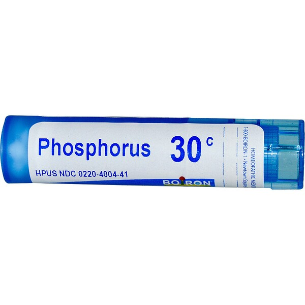 Boiron, Single Remedies, Phosphorus, 30C, environ 80 pilules