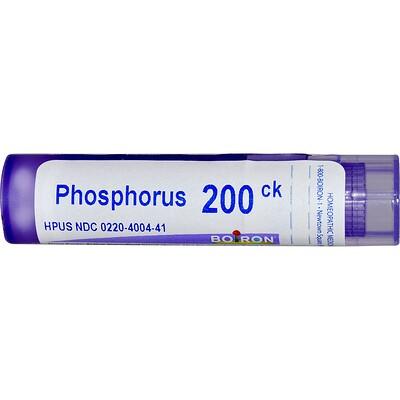 Boiron, Single Remedies Фосфор, 200CK, прибл. 80 гранул
