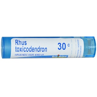 Boiron, Single Remedies, Rhus Toxicodendron, 30C, 80 Pellets