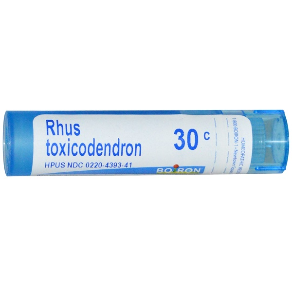 Boiron, Single Remedies, Rhus Toxicodendron, 30C, Approx 80 Pellets