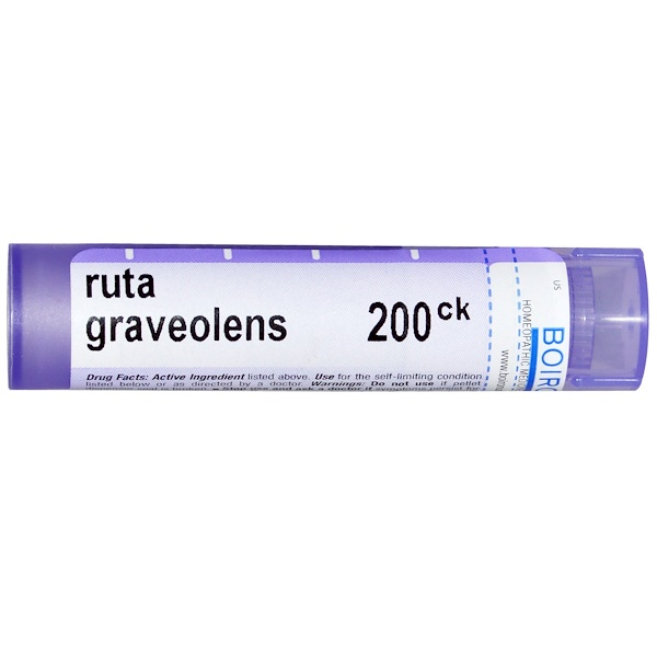 Boiron, Single Remedies, Ruta Graveolens, 200CK, Approx 80 Pellets