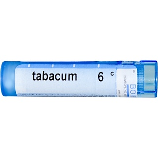 Boiron, Single Remedies, Tabacum, 6C, Approx 80 Pellets