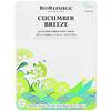 BioRepublic Skincare, Cucumber Breeze, Soothing Fiber Beauty Sheet Mask, 1 Sheet, 0.63 oz (18 ml)