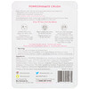 BioRepublic Skincare, Pomegranate Crush, Illuminating Fiber Beauty Sheet Mask, 1 Sheet, 0.63 oz (18 ml)