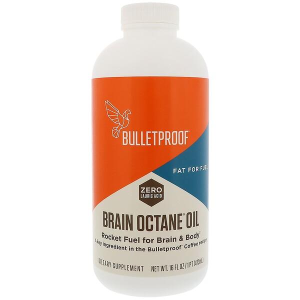 BulletProof, Brain Octane Oil, 16 fl oz (473 ml)