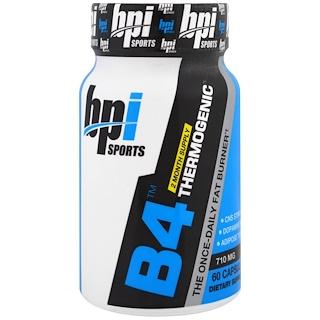 BPI Sports, B4 Thermogenic, 710 mg, 60 Capsules