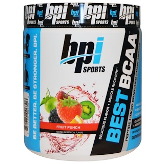 BPI Sports, Best BCAA, Fruit Punch, 10.58 oz (300 g)