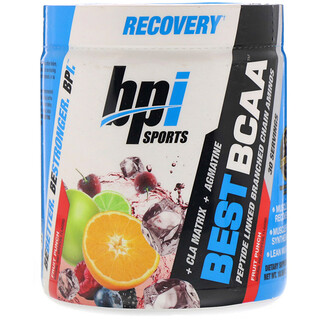 BPI Sports, Best BCAA, добавка для тренировок, фруктовый пунш, 300г (10,58унции)