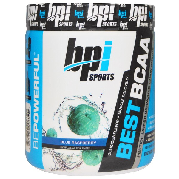 BPI Sports, Best BCAA, Blue Raspberry, 10.58 oz (300 g)