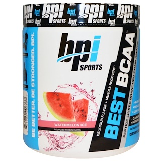 BPI Sports, Best BCAA, Watermelon Ice, 10.58 oz (300 g)