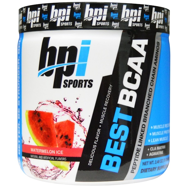 BPI Sports, Best  BCAA, Watermelon Ice, 2.46 oz (70 g) (Discontinued Item)