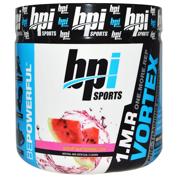BPI Sports, 1.M.R. Vortex, Pre-Traning Powder, Sour Watermelon, 5.3 oz (150 g) (Discontinued Item)