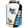 BPI Sports, ISO HD, 100% Whey Protein Isolate & Hydrolysate, Cookies and Cream, 5.0 lbs (2,285 g) (Discontinued Item)