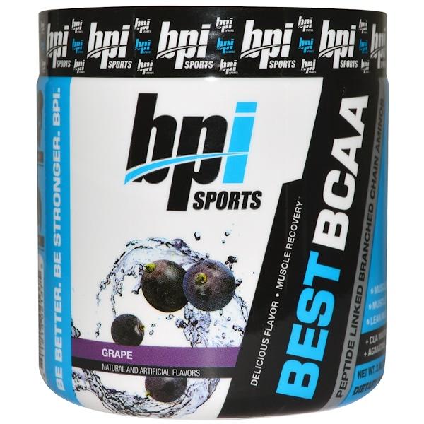BPI Sports, Best BCAA, Grape, Single Serving Trial, 2.46 oz (70 g) (Discontinued Item)