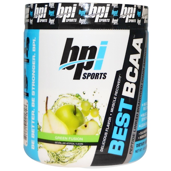 BPI Sports, Best BCAA, グリーン・フュージョン, 300 g (Discontinued Item)
