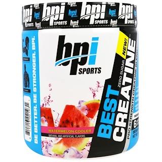 BPI Sports, Best Creatine, Pro Strength Creatine Blend, Watermelon Cooler, 10.58 oz (300 g)