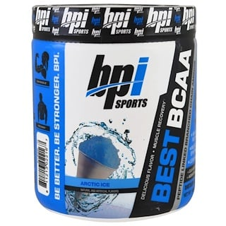BPI Sports, Best BCAA, Peptide Linked Branched Chain Aminos, Arctic Ice, 10.58 oz (300 g)