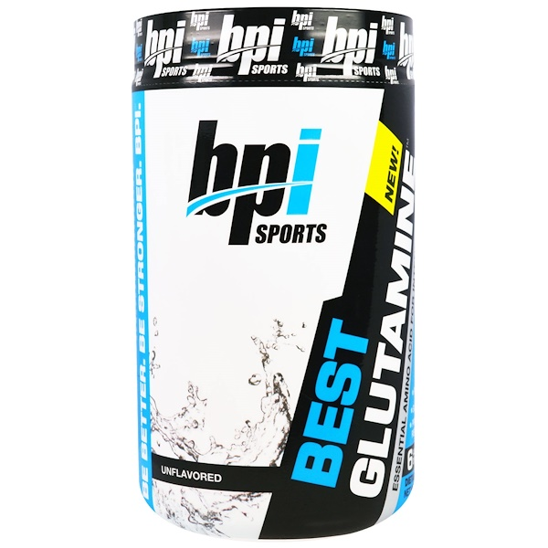 BPI Sports, Best Glutamine. Unflavored, 12.3 oz (350 g) (Discontinued Item)