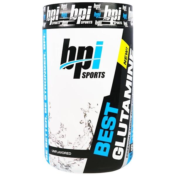 BPI Sports, ベストグルタミン、味付け無し、12.3オンス(350g) (Discontinued Item)