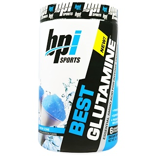 BPI Sports, Best Glutamine, Snow Cone, 14.1 oz (400 g)