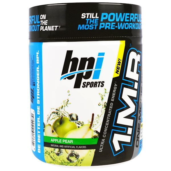BPI Sports, 1.M.R One.More.Rep, Apple Pear, 8.5 oz (240 g) (Discontinued Item)