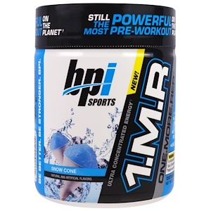 БПА Спортс, 1.M.R, One.More.Rep, Snow Cone, 8.5 oz (240 g) отзывы