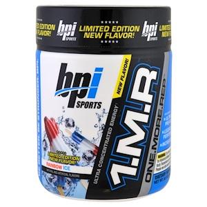 БПА Спортс, 1.M.R, One. More. Rep, Pre-Workout Powder, Limited Edition, Rainbow Ice, 8.5 oz (240 g) отзывы