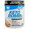 BPI Sports, Keto Bomb, Ketogenic Creamer For Coffee & Tea, Caramel Macchiato, 1 lb 0.5 oz (468 g)